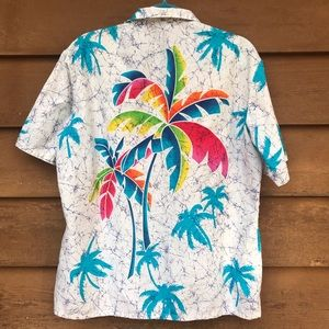 Kennington Vintage Hawaiian Palm Shirt